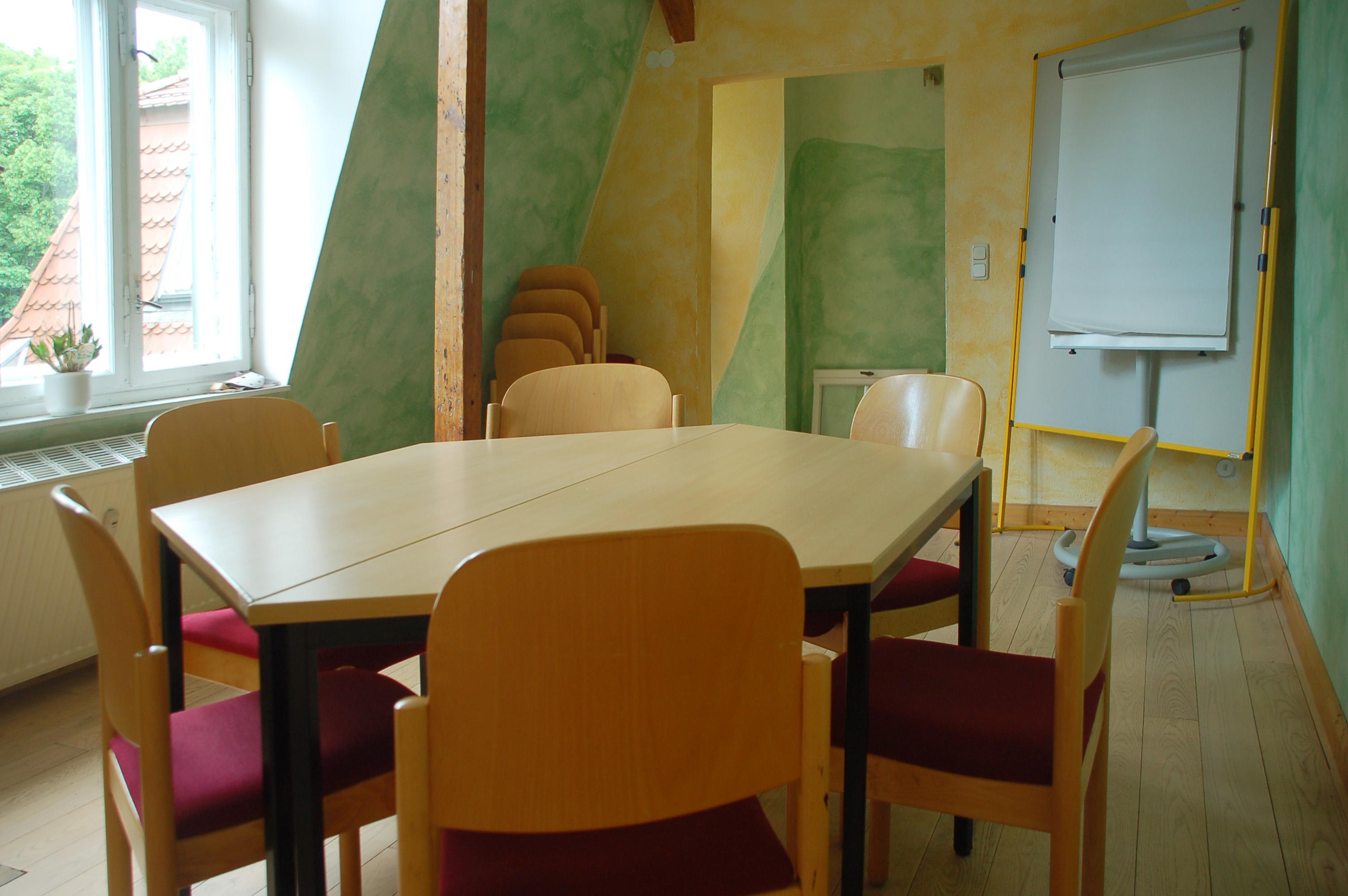Ökovilla kleiner Seminarraum